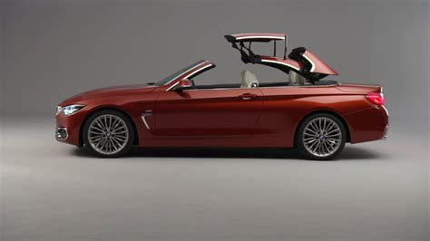 2017 bmw 4 series convertible facelift exterior design