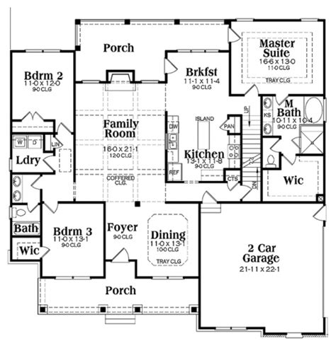 unique house plans one story architecture house plans single storey house floor plans