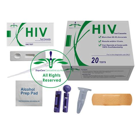 hiv test kit at home within 15 minutes hivblood 20