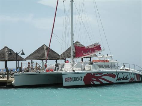 party boat jamaica party boat picture of sandals ochi beach resort ocho