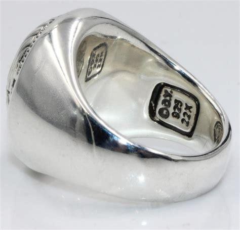 david yurman 22kt sterling silver mens scarab ring