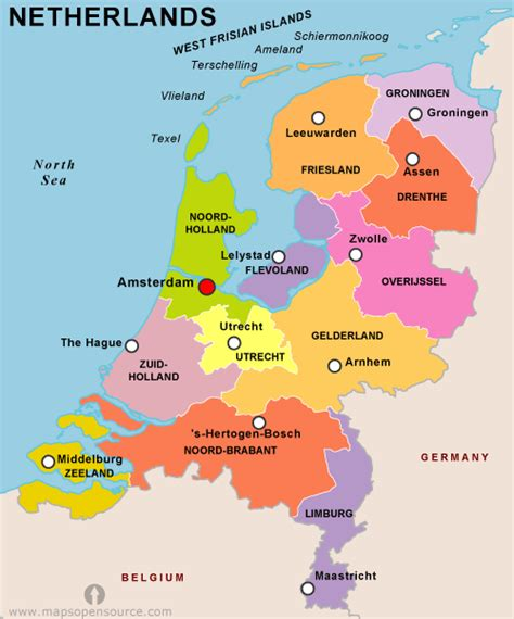 netherlands map images netherlands country profile free maps of netherlands