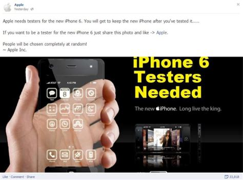 Free Iphone Giveaways Real - fake iphone tester giveaways on facebook