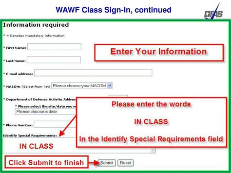 wawf tutorial ppt wide area workflow inspector and acceptor training
