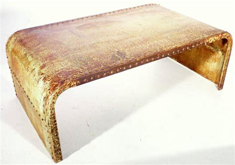 Industrial Design Couch Or Sofa Table Sheet Metal Of A