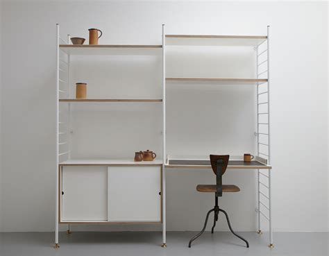 Home Shelving Systems Albam Modular Utility Shelving System Selectism