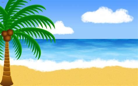 wallpaper cartoon beach beach clipart beach background pencil and in color beach