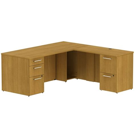 S Shaped Desk by Bush Business Furniture Realize Series L Shaped Desk
