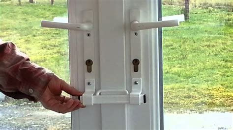 How To Open A Locked Patio Door by How To Improve Upvc Door Security Upvc Door