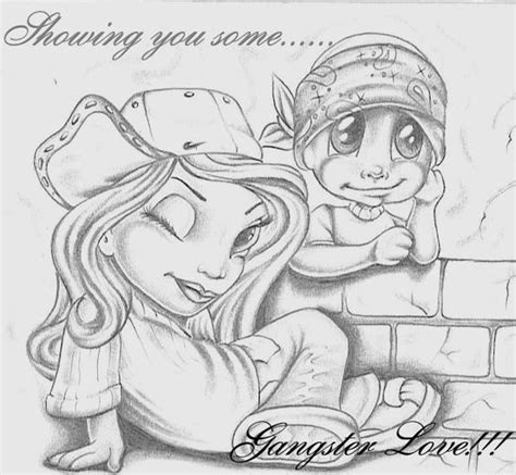 imagenes love gangster mexican drawings la cholos gangsta love graphics and