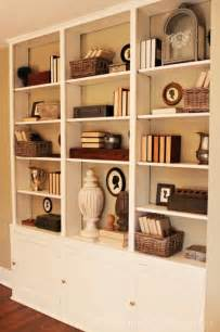 bookcase home decorating ideas