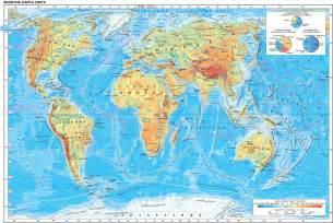 фізична карта півкуль 6 клас