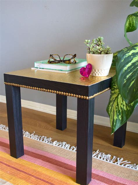 lack side table hack diy ikea lack table upgrade