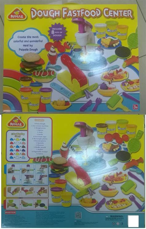 Sale Mainan Family Meal Set play doh fast food set mainan maka end 2 9 2018 12 15 am