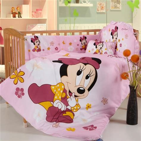 promotion 8pcs bedding set for crib baby cot bed