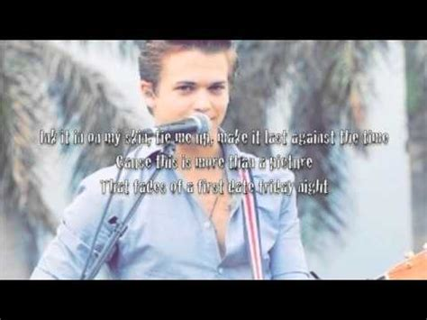 tattoo lyrics hunter hayes by lyrics