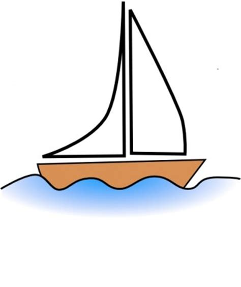 cartoon boat in waves clip art of a boat on wave clipart cliparthut free clipart