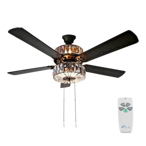 River Of Goods 52 In Clear Ceiling Fan 16553s The Home