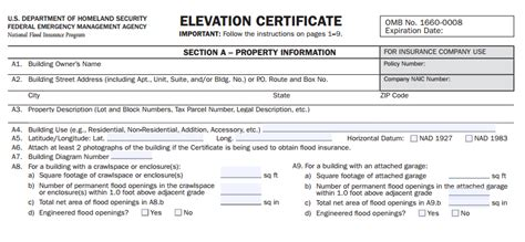 Elevation Certificate Letter Of Map Amendment Letter Of Map Amendment Loma