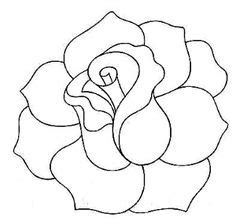rose pattern line drawing flower outline tattoos rose outline tattoo stencil line