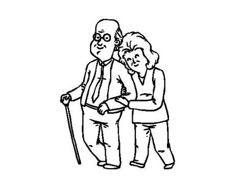 imagenes niños felices para colorear dibujo de abuelos felices para colorear dibujos net