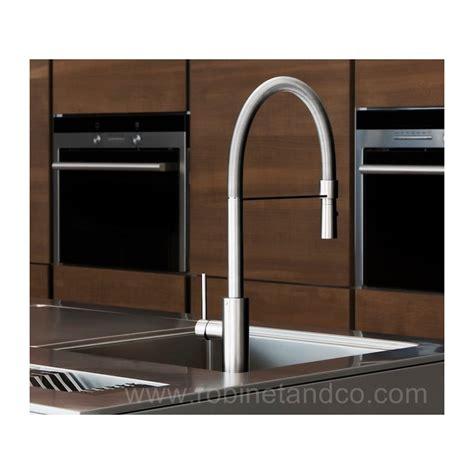 mitigeur cuisine professionnel robinet cuisine professionnel 224 douchette par robinet and co