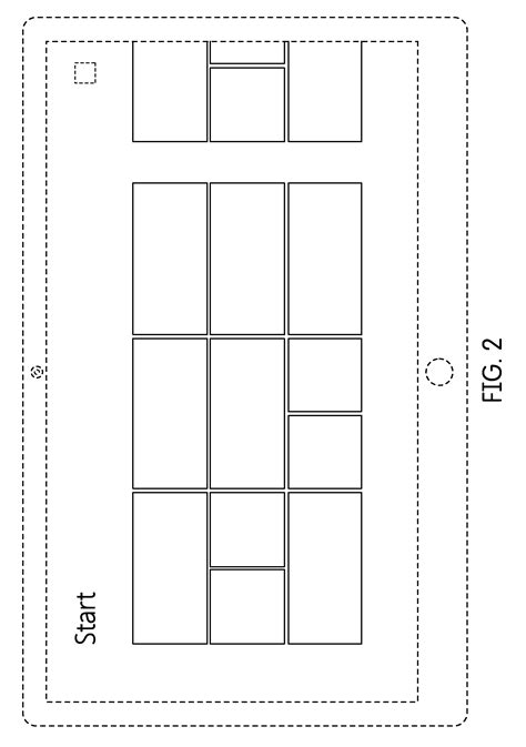 rectangle pattern drawing patente usd681050 display screen with graphical user