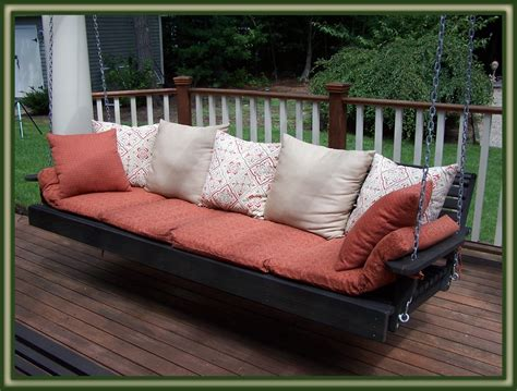 porch bed swing outdoor porch bed swing amazing custom porch swing bed