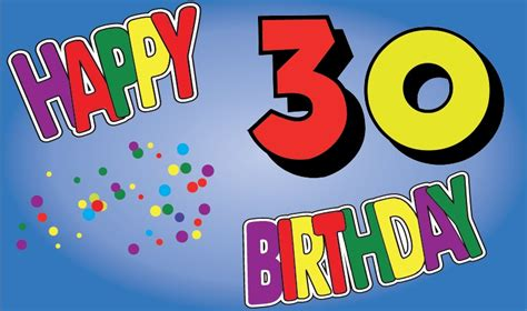 30 Geburtstag Autoaufkleber by Flaggenparadies Flagge Fahne Happy Birthday 30 Geburtstag