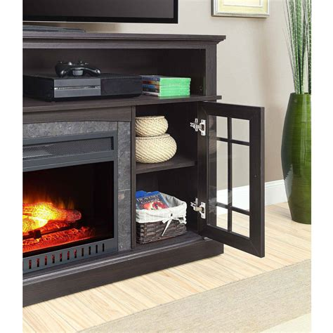better homes fireplace tv stand better homes and gardens tv stand