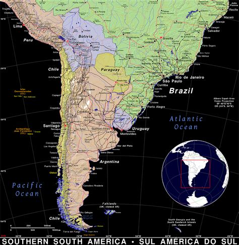 south america dot map southern south america 183 domain maps by pat the