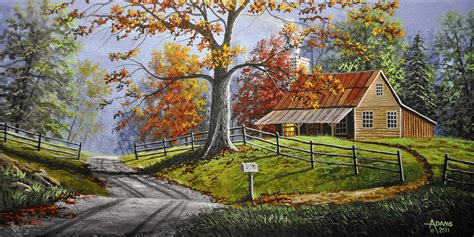 country paintings country large painting by gary