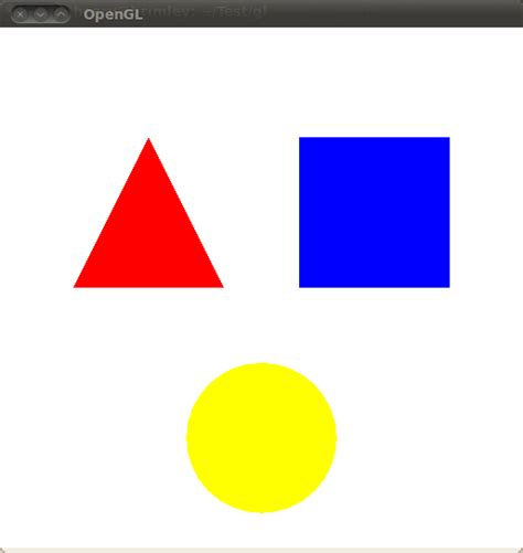 2d printable coloured shapes opengl template summary for 2d 3d shapes and their
