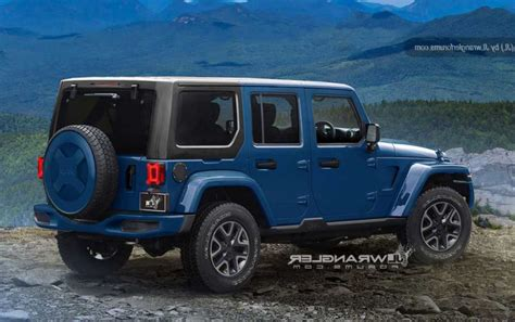 2018 jeep release 2018 jeep wrangler release date redesign price