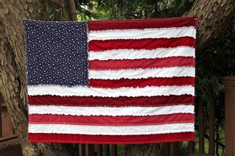 grand flag rag quilt big a a