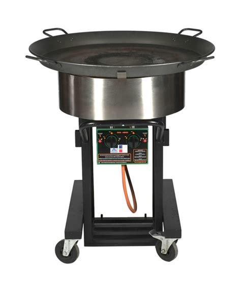 grote wokpannen koekenpan gas rond 100 cm 60 pers jk partyverhuur