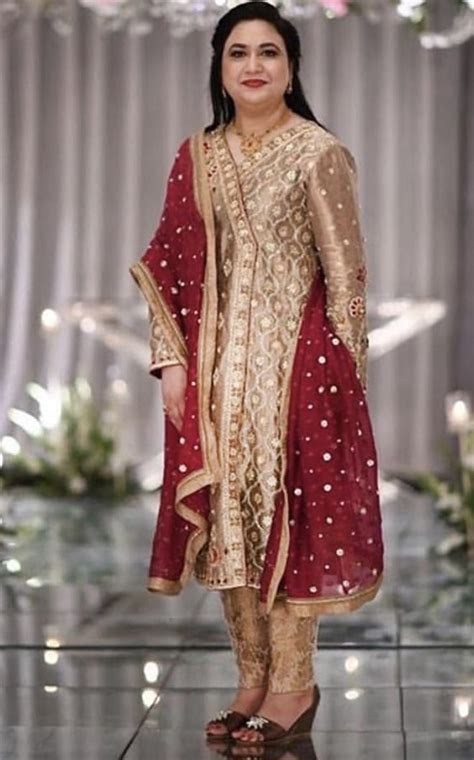 brides mother pakistani party wear pakistani dresses