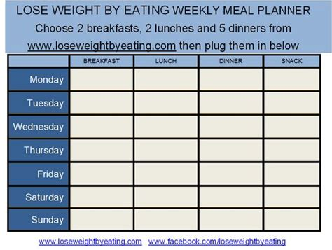 free printable weight loss meal planner 1200 calorie meal plan for fast weight loss meal planner