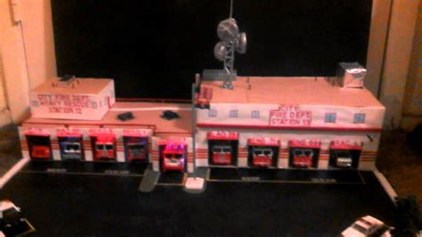 scale fire station layout  code  fire youtube