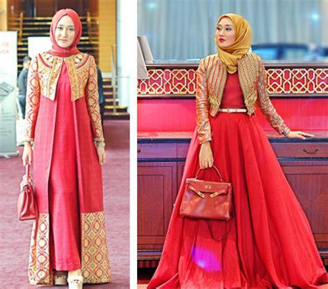 gamis batik desain dian pelangi 14 contoh gambar desain model baju dian pelangi paling