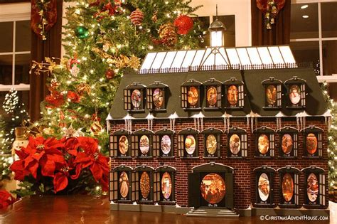 christmas vacation house the quot christmas vacation quot advent house calendar christmas pinterest each day