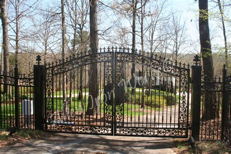 iron entrance gates birmingham al allen iron works