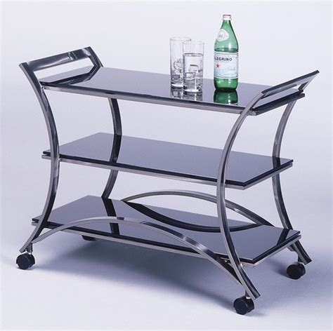 modern bar cart mandalay serving cart modern bar carts by wayfair