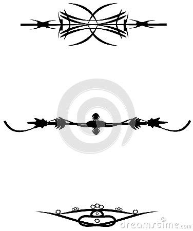 intricate tribal tattoos tribal designs stock vector image 45270699