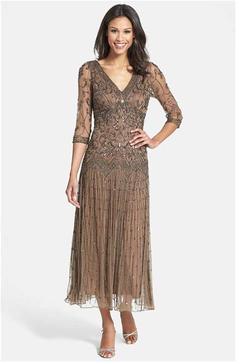 pisarro nights beaded mesh dress pisarro nights beaded mesh dress sz 12 chocolate ebay