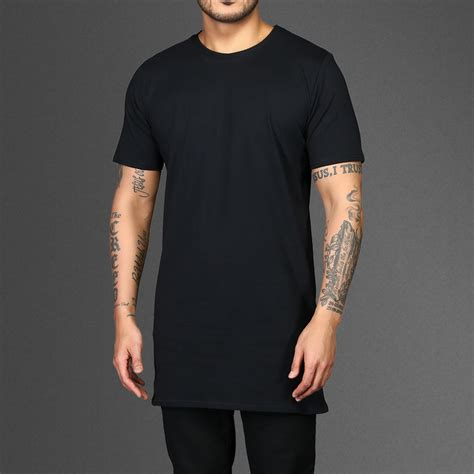 Jumbo Kenzo Oversized Blouse Fit To Baju Hitam Motex plain black longline t shirt wehustle menswear womenswear hats mixtapes more