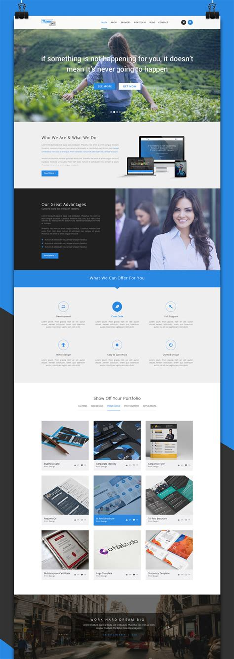 single page brochure templates psd a4 size brochure templates free various high
