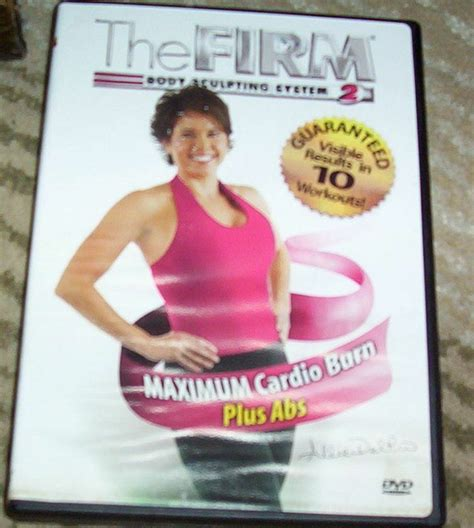 the firm maximum cardio burn plus abs workout dvd fitness exercise delrio 767712811941 ebay