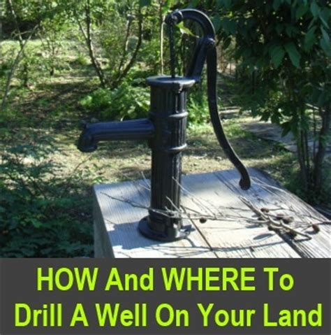 how to drill your own well in your backyard water archives knowledge weighs nothing