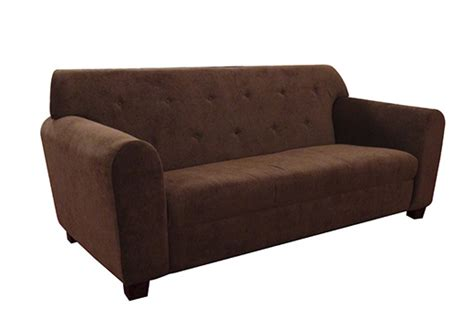 chocolate brown suede ottoman soft furnishings total event rental